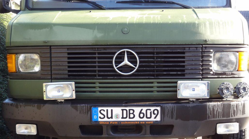 MB 609D - Technisch jedoch einwandfrei
