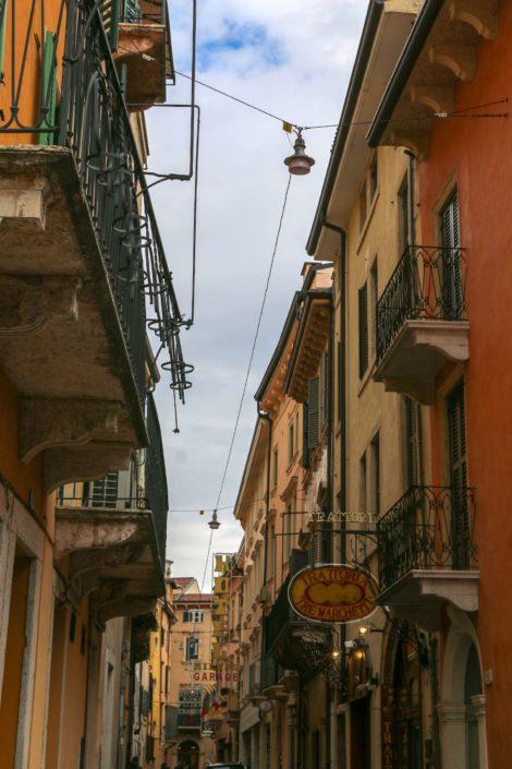 Veronas verwinkelte Gassen