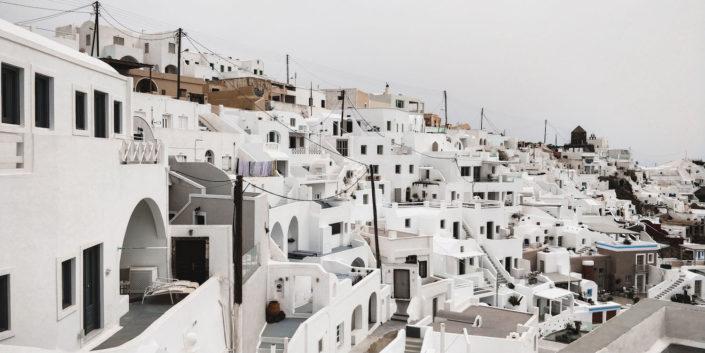 Über der Amoudi Bay - Oia