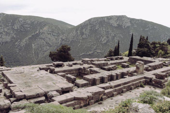 Einst der Tempel des Apollon