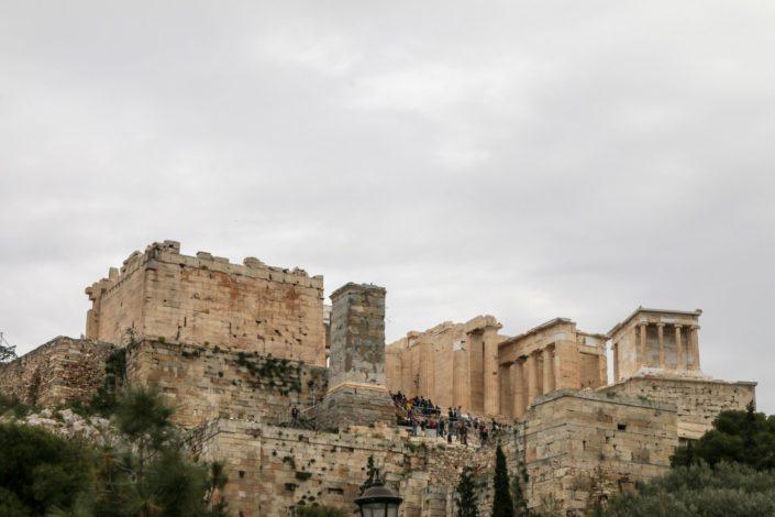 Die Akropolis von der anderen Seite