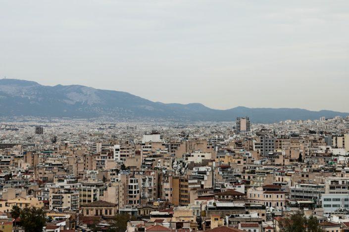 Millionenmetropole Athen