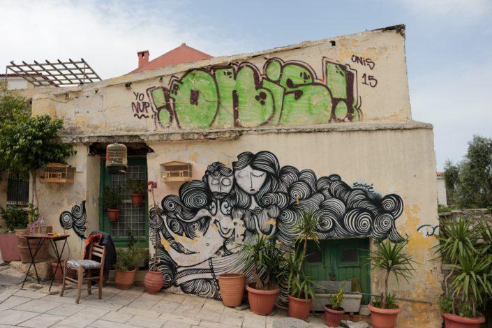 Streetart in der Altstadt