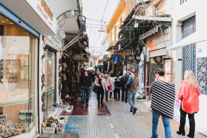 Der Markt von Athen
