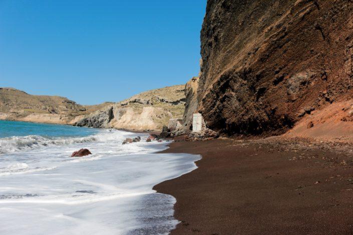roter Strand von Santorini