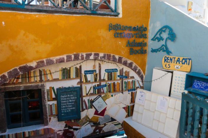 Der berühmte 'Atlantis Books' Store