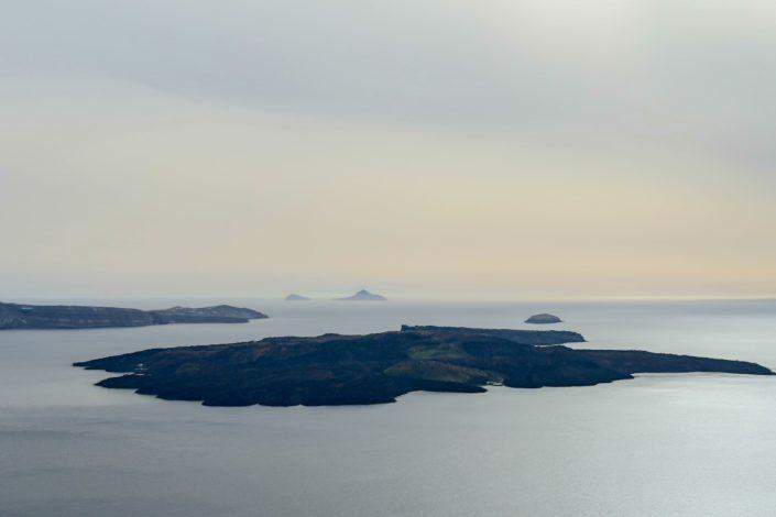Nea Kameni - der Vulkan vor Santorini