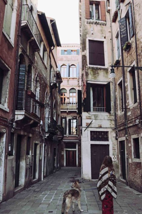 Wonderfully lost in Venedig