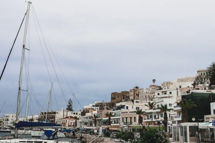 Wir verlassen Naxos