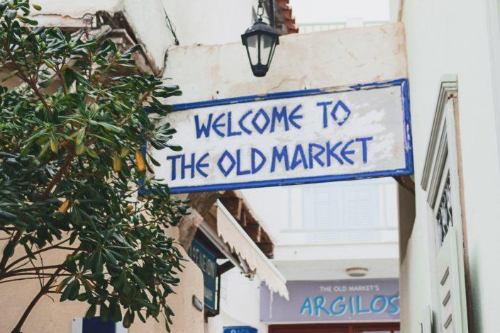 Old Market von Naxos Stadt