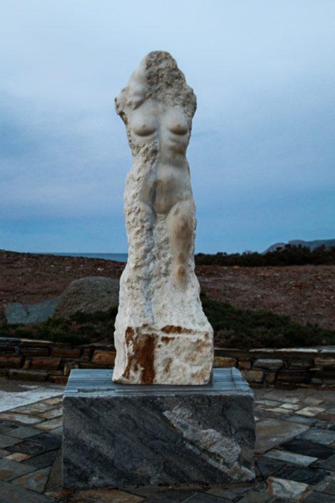 Am Hafen von Naxos