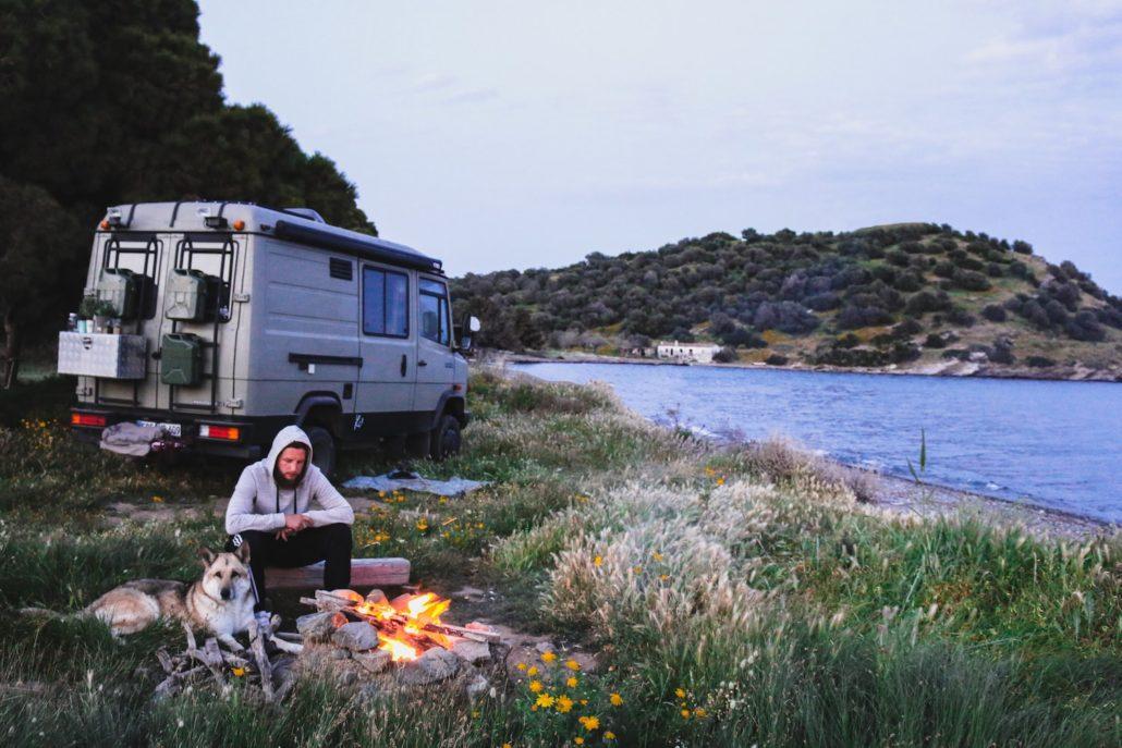 Frei Stehen in Griechenland | Peloponnes