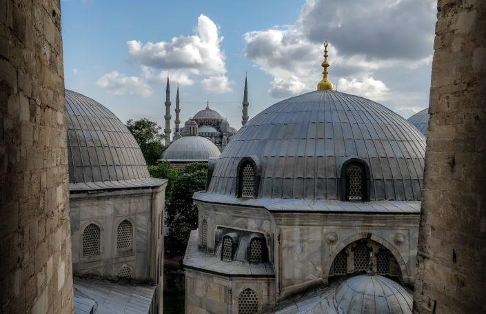 Istanbul - Ausblick aus der Hagia Sophia