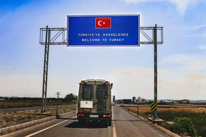 Ipsala - Grenzübertritt in die Türkei