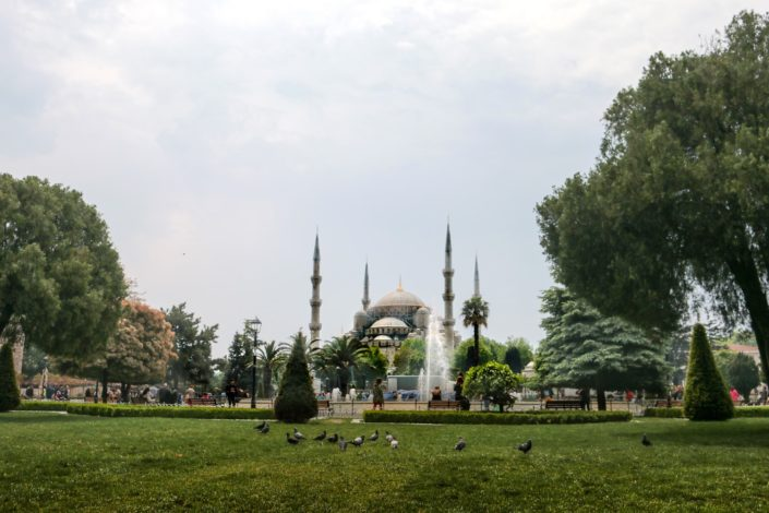 Istanbul -Sultan-Ahmed-Moschee