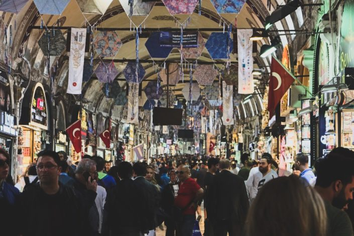Istanbul -der antike Bazar
