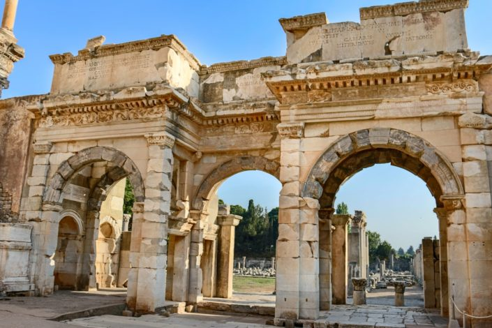 die Ruinen von Ephesus