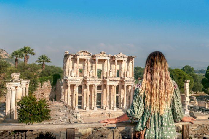Netter Ausblick auf Ephesus
