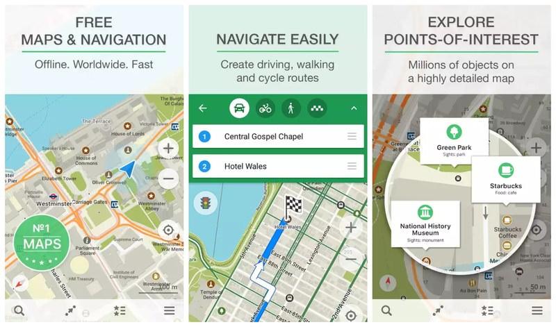 Maps.Me Navigation