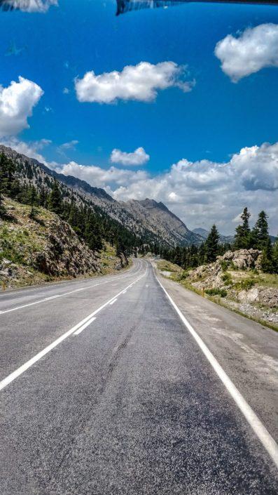 Der schöne Teil der Route
