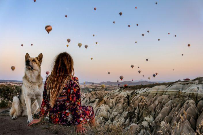 das Heißluftballonspektakel