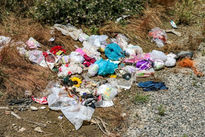 Müll einfach überall