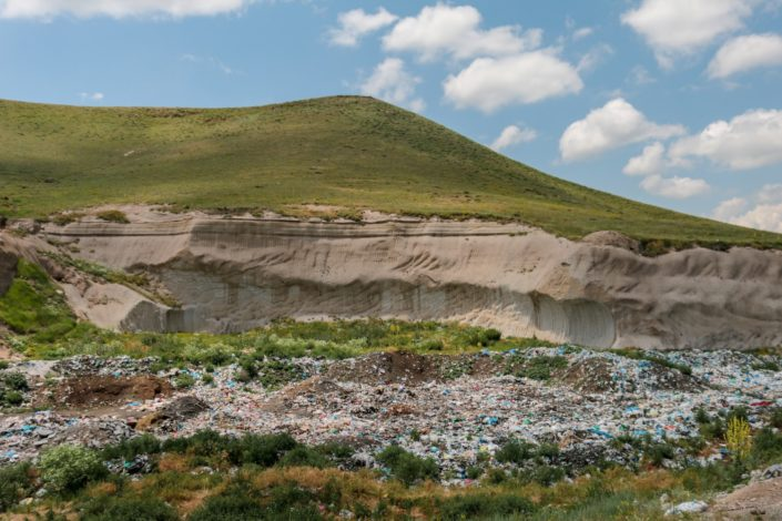 Das ist keine Mülldeponie!
