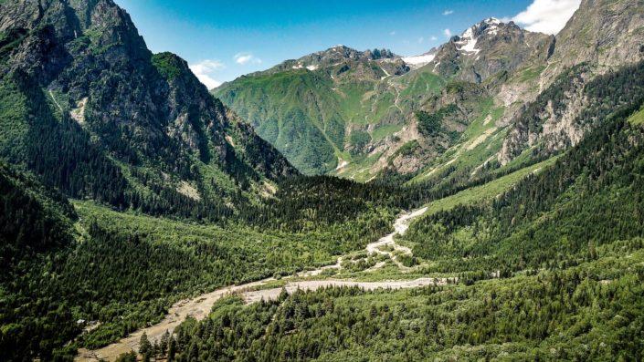Die atemberaubende Natur Georigens