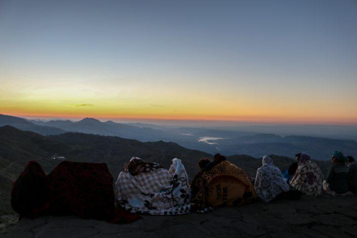 Sonnenaufgang am Nemrut Dagi