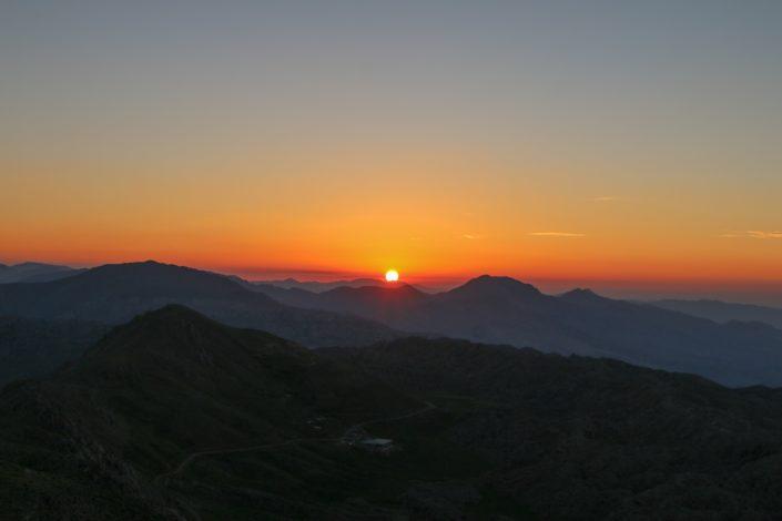 Sonnenaufgang | Atatürk Stausee
