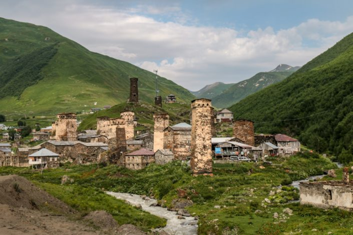 Die Wehrtürme Ushgulis - UNESCO-Welterbe