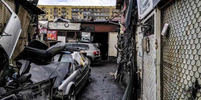 Tiflis - Autoersatzteile bekommt man hier im Überfluss