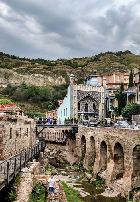 Das Schwefelbad in Tiflis