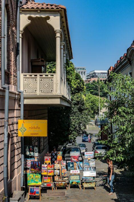 Tiflis und seine Künstlerstände
