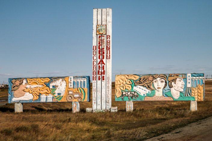 Im Norden Kasachstans