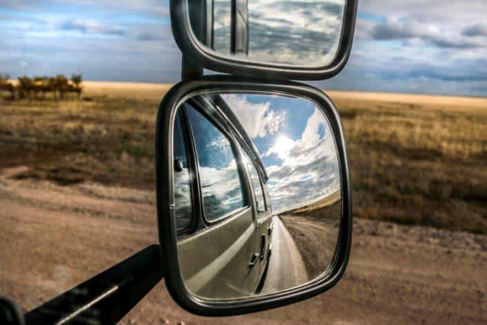 Wir lassen Kasachstan und die Stadt zurück