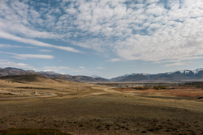 ganz da hinten liegt die Mongolei