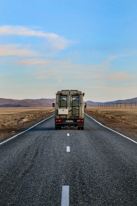 Zwischen Russland und der Mongolei