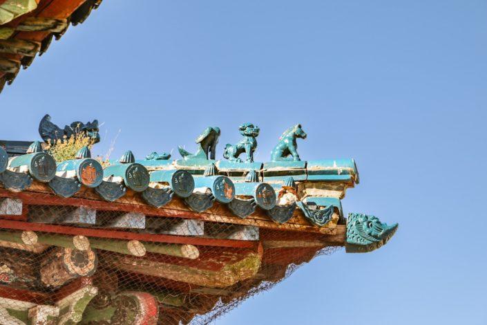 Detail auf einem Dach