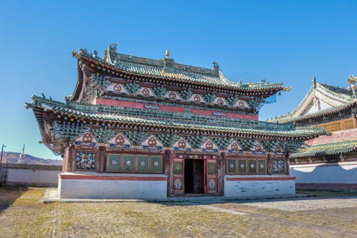 das älteste buddhistische Kloster des Landes