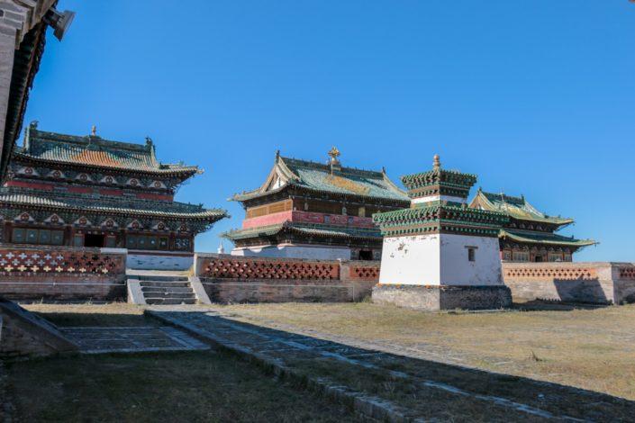 buddhistische Tempel in der Anlage