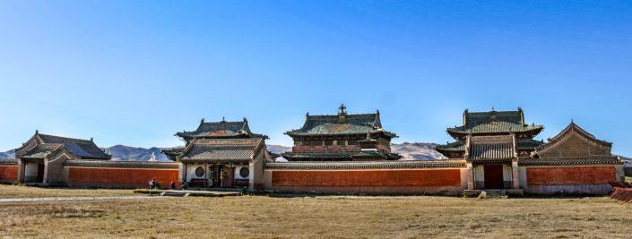 Drei der Temple auf dem Gelände