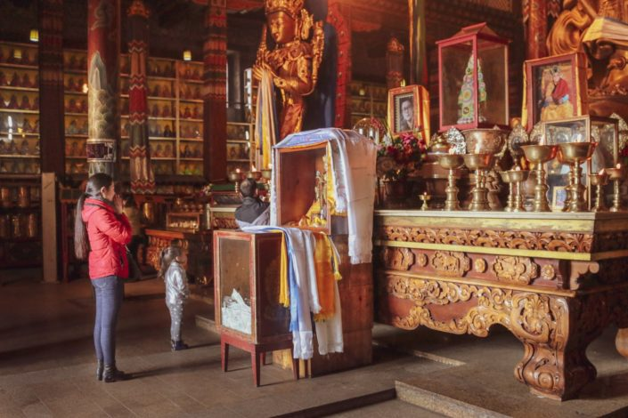Gandan-Kloster | Der Altar