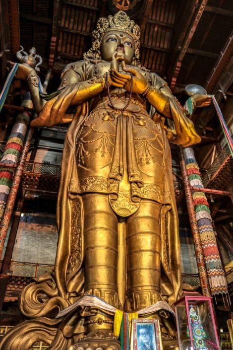 Gandan-Kloster | Göttin Janraisig