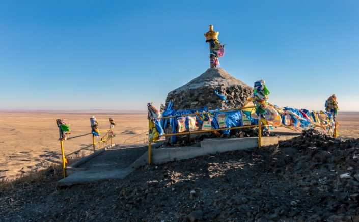 Khan Bayanzurkh Mountain | Hier oben dürfen nur Männer sein, welche ihre Frauen dort ehren.