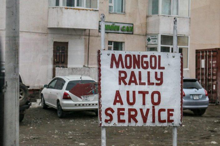 Mongol Rally Auto Service