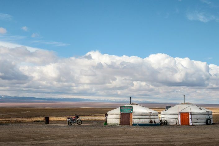 Mongolische Raststätte