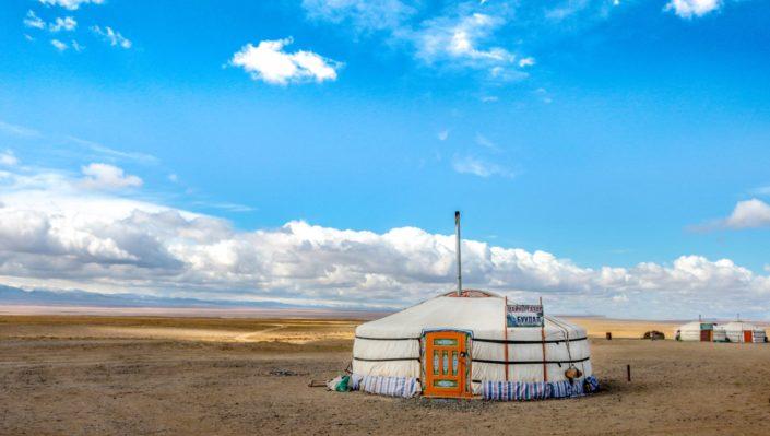Jurten werden in der Mongolei Ger genannt