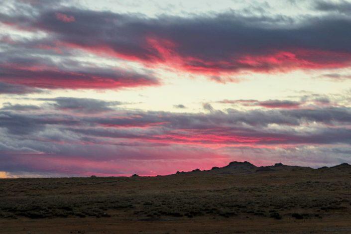 Unglaublichen Farben beim Sonnenuntergang - KEIN PHOTOSHOP