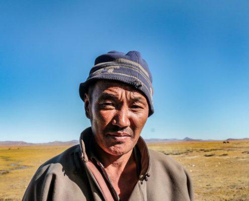 mongolischer Hirte